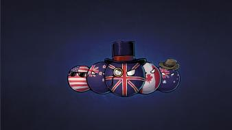 Australia canada new zealand usa united kingdom wallpaper