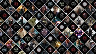 Avengers the (movie) collage digital art movies wallpaper