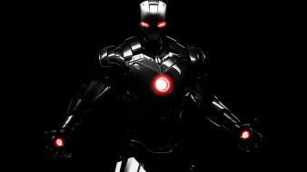 Black iron man dark warmachine marvel comics background wallpaper