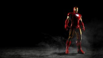 Black iron man wallpaper