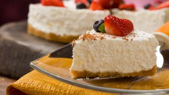 Cheesecake cakes wallpaper