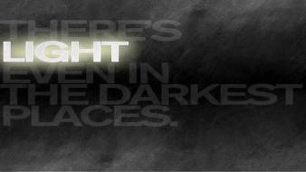 Darkness light quotes text wallpaper