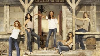 Desperate housewives marcia cross saloon vanessa williams wallpaper