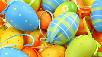 Easter eggs bright Wallpaper