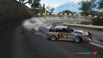 Forza motorsport 4 audi s1 game drift wallpaper