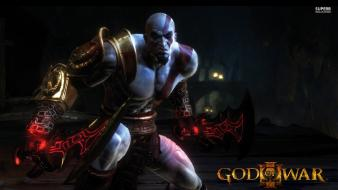 God of war posters 3 kratos screens wallpaper