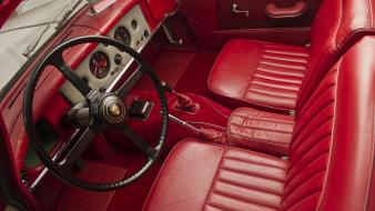 Jaguar xk150 roadster cars interior wallpaper