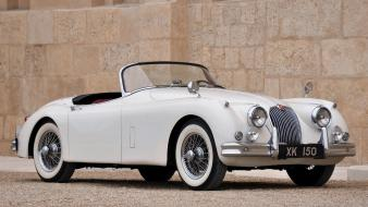 Jaguar xk150 roadster cars wallpaper