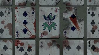 Justice league the joker cards wallpaper