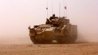 Logistic armoured personnel carrier basra warrior tracked Wallpaper