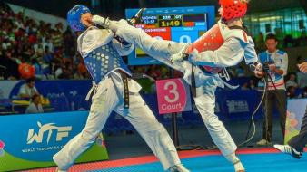 Olympics taekwondo wtf fight fighting wallpaper