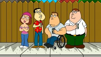 Peter griffin glenn quagmire joe swanson meg wallpaper