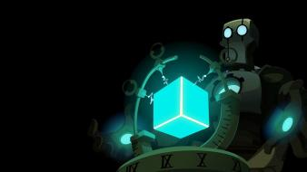 Robot robots fantasy art tesseract Wallpaper
