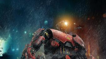 Robots typhoon crimson pacific rim wallpaper