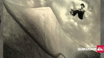 Skateboarding quiksilver wallpaper