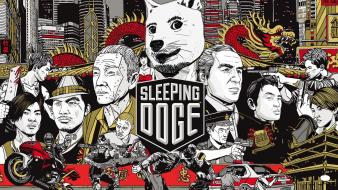 Sleeping dogs video games Wallpaper