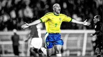 Soccer brazil hdr photography football stars ronaldo players wallpaper
