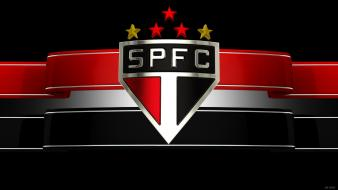 Soccer brazil logos 3d football teams sao paulo wallpaper