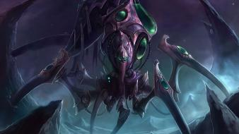 Starcraft zerg game wallpaper