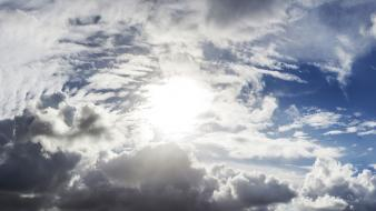 Sun cloud nature skies wallpaper