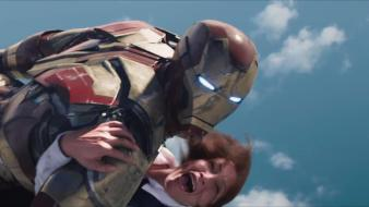Tv iron man armor snapshot marvel 3 spot wallpaper