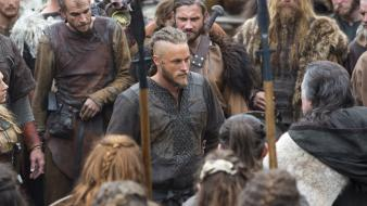 Tv series the vikings travis fimmel wallpaper