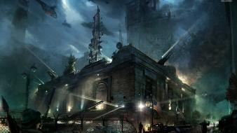 Video games crysis 2 posters screens Wallpaper