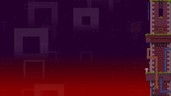 Video games fez retro art 16bit wallpaper