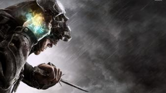 Video games posters dishonored screens wallpaper