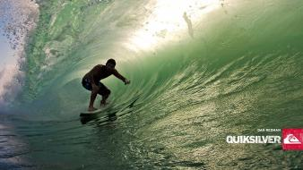 Waves surfing quiksilver wallpaper