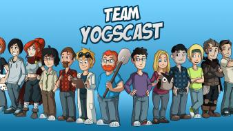 Yogscast team Wallpaper