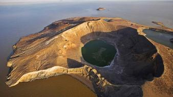 Africa kenya bay crater go wallpaper