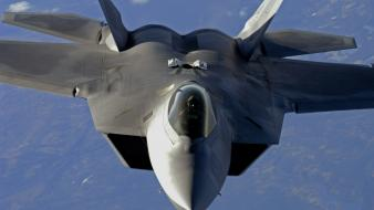 Aircraft f-22 raptor air national guard Wallpaper