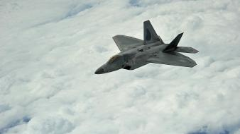 Aircraft f-22 raptor Wallpaper