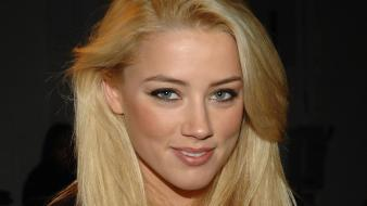 Amber heard actress blondes brunettes Wallpaper