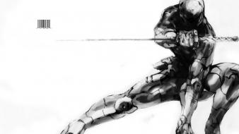 Armour black and white drawings fighter helmets Wallpaper