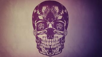 Artwork graphics simple background skulls vector art wallpaper