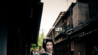 Asians archetecture countries culture geisha wallpaper