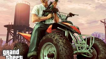 Auto rockstar games atv gta v trevor wallpaper