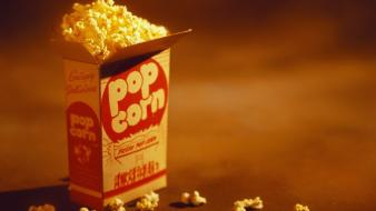 Bag popcorn wallpaper