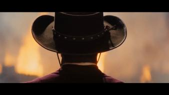 Blue yellow explosions film shot django unchained monitor wallpaper