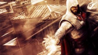 Brotherhood ezio auditore da firenze hidden gun wallpaper