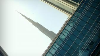 Burj khalifa dubai uae metro skyscrapers Wallpaper
