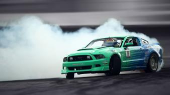 Cars ford mustang drift wallpaper
