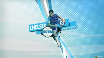 Chelsea fc eden hazard football players wallpaper