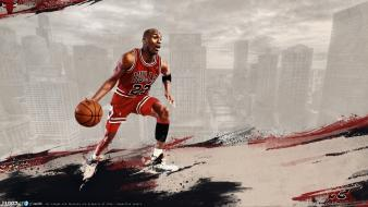 Chicago bulls michael jordan nba basketball player Wallpaper