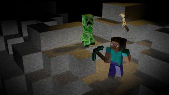 Creeper minecraft moekeis wallpaper