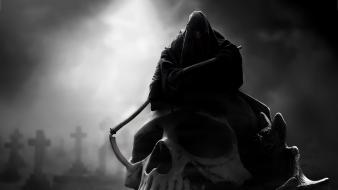 Dark grim reaper wallpaper