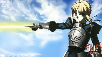 Fate/stay night weapons saber fate/zero swords fate series Wallpaper