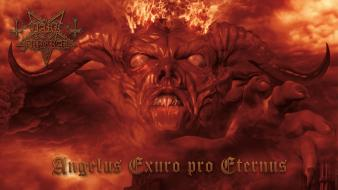 Flames music fire devil dark funeral Wallpaper